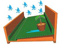 軽量で、耐久性に優れた防水層