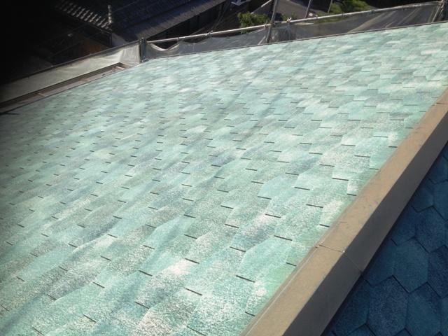 岸和田市 屋根塗装 遮熱塗料